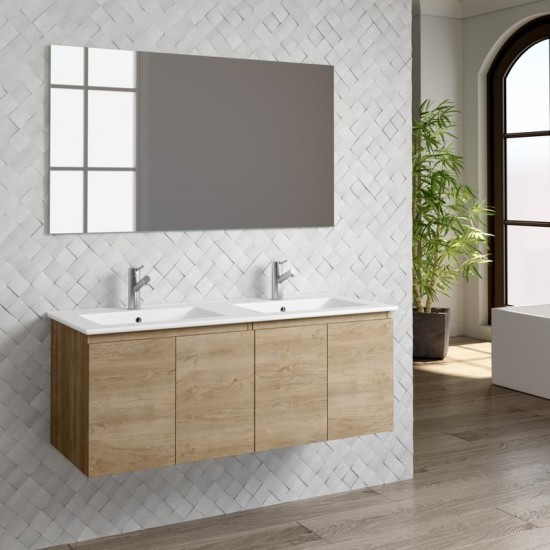 Dax Malibu 48 Oak Bathroom Vanity