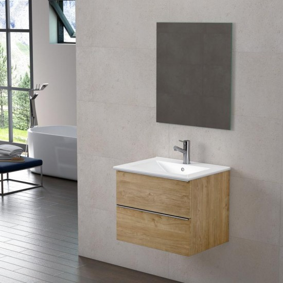 Dax Santa Monica 24 Oak Bathroom Vanity