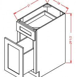 Shaker Base Cabinets - File Drawer