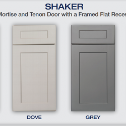 "Shaker Wall Cabinets - 30"" High Blind Cabinet"