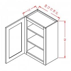 """York Wall Cabinets - 42"""" High Single Door"""
